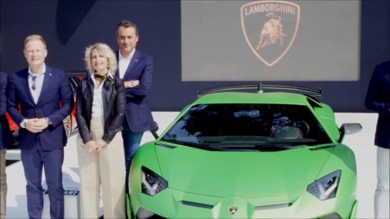 mp4.ir - رونمایی از جدیدترین خودروی لامبورگینی 2019