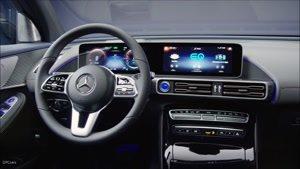 جدیدترین مرسدس بنز Mercedes EQC ۴۰۰ Electric SUV Interior