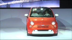 خودرو فیات جدید الکتریکی مدل 500e