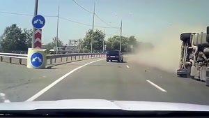 تصادف ماشین ها در روسیه