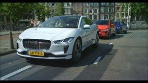 جدیدترین خودروی جگوار در خیابان های آمستردام