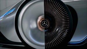 یکی از غول های آینده مرسدس بنز مدل Mercedes AMG Vision EQ Silver Arrow