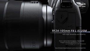 تریلر معرفی لنزهای جدید سری RF کنون