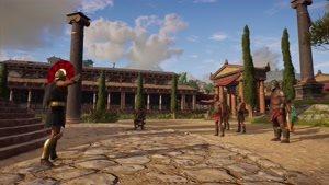ویدئویی از بازسازی یونان قدیم در بازی Assassin&#۱۴۶s Creed Odyssey