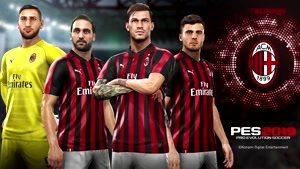 تیزر همکاری رسمی بازی PES ۲۰۱۹ با باشگاه AC Milan