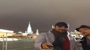 فیلم احسان علیخانی در روسیه