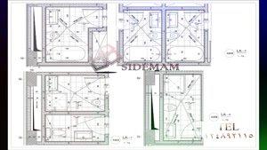 ترسیم نقشه های فا ز ۱ و فاز ۲ معماری