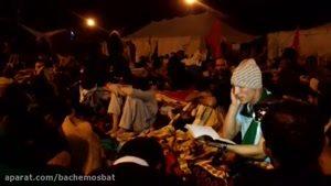 عزاداری شیعیان پاکستان درمسیر اربعین حسینی عراق