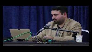 از اینکه جمهوری اسلامی از بین برود نمی ترسم ! از اینکه آقا رو بکشند نمی ترسم. من از این می ترسم