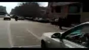 موتور سواری در کلان شهر