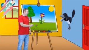 انیمیشن آموزش زبان Steve And Maggie - قسمت ۲۰