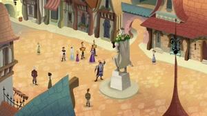 انیمیشن گیسو کمند فصل ۱ قسمت هفتم