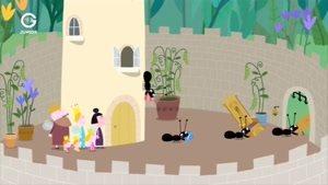 انیمیشن Ben and Holly&#146s little Kingdom تپه مورچه