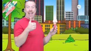 انیمیشن آموزش زبان Steve And Maggie - قسمت 27