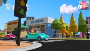 انیمیشن ماجراهای توتو - توتو و پلیس بازی
