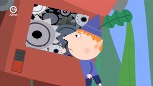 انیمیشن Ben and Holly&#146s little Kingdom ربات اسباب بازی