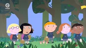 انیمیشن Ben and Holly&#۱۴۶s little Kingdom قسمت به دنبال کوکی های گمشده در طبیعت