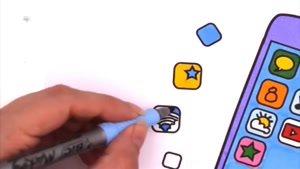 انیمیشن آموزش نقاشی قسمت یازده