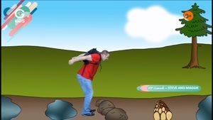 انیمیشن آموزش زبان Steve And Maggie - قسمت 23