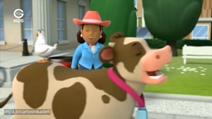 انیمیشن سگ های نگهبان - سگ ها و گاوها