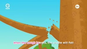 انیمیشن آموزش های شاد با لاروا - Rock A Bye Larva