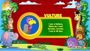 انیمیشن آموزش زبان انگلیسی دنیای حیوانات قسمت دو