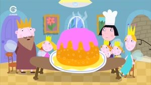 انیمیشن Ben and Holly&#146s little Kingdom مهمانی شام