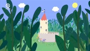 انیمیشن Ben and Holly&#۱۴۶s little Kingdom قسمت گیانتز در چمنزار