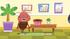 انیمیشن آموزش های شاد با لاروا - This Little Larva