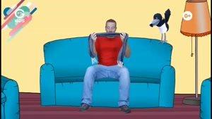 انیمیشن آموزش زبان Steve And Maggie - قسمت 36