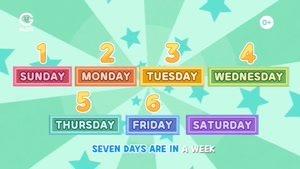 انیمیشن آموزش های شاد با لاروا - 7Days In A Week