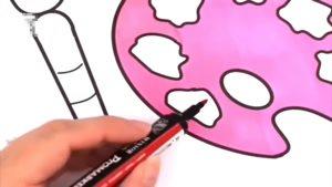 انیمیشن آموزش نقاشی قسمت پانزده