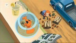 انیمیشن ماهی قرمز من قسمت چهارده