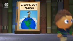 انیمیشن دهکده کتاب داستان - قسمت 52