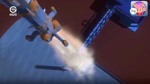 انیمیشن ماجراهای توتو - سفر به فضا