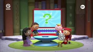انیمیشن دهکده کتاب داستان - خوک داره میره تفریح