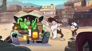 انیمیشن آبشار جاذبه Gravity Falls دوبله فارسی قسمت۱۴ فصل اول