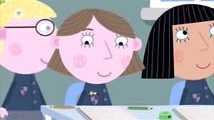 انیمیشن Ben and Holly&#۱۴۶s little Kingdom قسمت مدرسه لوسی