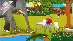 انیمیشن آموزش زبان Steve And Maggie - قسمت 3