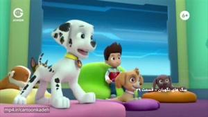 کارتون سگ های نگهبان - سگ ها در تعمیرات هستند