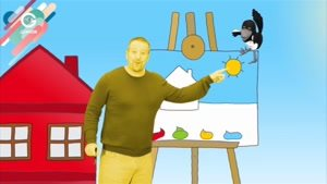 انیمیشن آموزش زبان Steve And Maggie - قسمت ۱۶