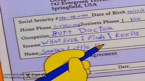 دانلود انیمیشن سریالیThe Simpsons - قسمت20-فصل هشتم