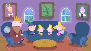 انیمیشن Ben and Holly&#146s little Kingdom عصبانیت روزانه شاهزاده