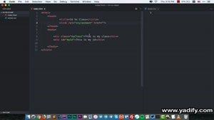 تفاوت ID و Class در طراحی وب (راهنمای کامل ویدیویی)