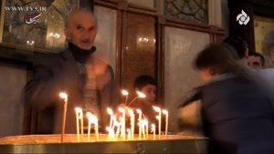 آرزوی زیارت کربلا توسط کشیش مسیحی در مستند گمشده ، عزاداری محرم در گرجستان، تفلیس