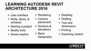 آموزش کامل Revit Architecture ۲۰۱۶ در معماری