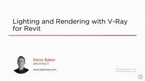 آموزش Vray در Revit