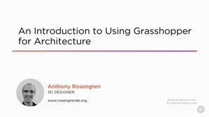 آموزش Grasshopper در معماری