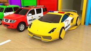 ماشین و رنگ ها