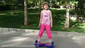 آموزش سوار شدن اسکوتر برقی به کودکان
